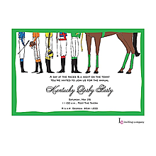 Kentucky Derby Party Invitations Inviting Company